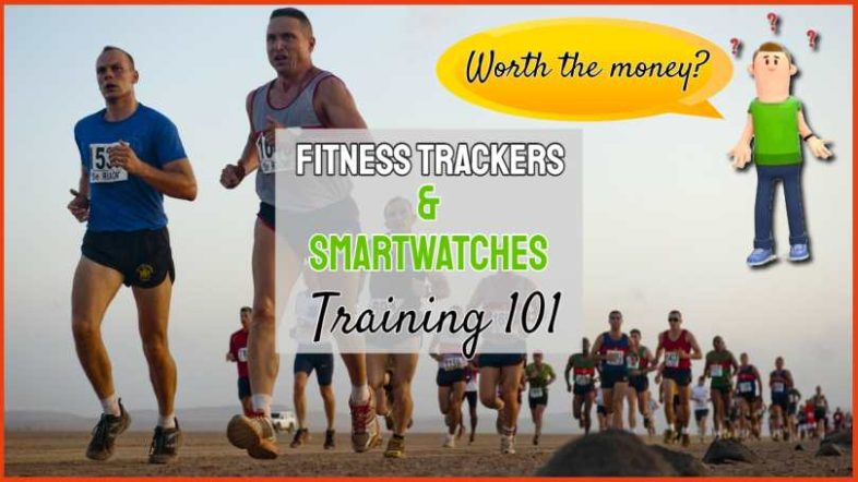 """Image text: """"Fitness Trackers and Smart Watches 101""""."""
