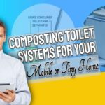 "Featured image text: Composting toilet systems""."