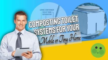 """Featured image text: Composting toilet systems""""."""