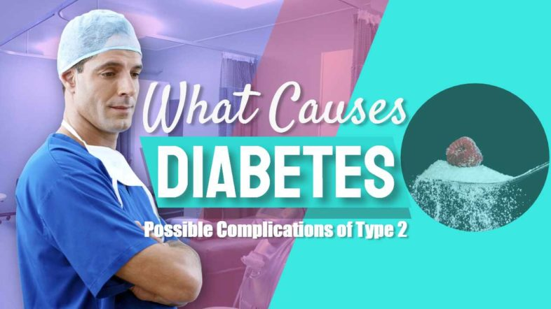 """Featured image text: """"What Causes Diabetes"""""""