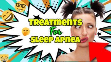 "Image text: ""Treatments for sleep apnea""."