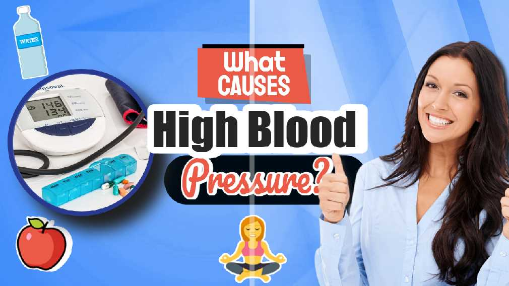 "Featured image text: ""What causes high blood pressure?"""
