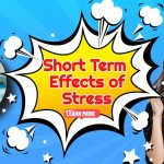 "Image text: ""Short term effects of stress""."