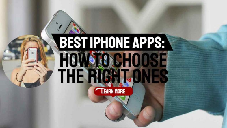 """Image text: """"Best iPhone Apps How to Choose""""."""