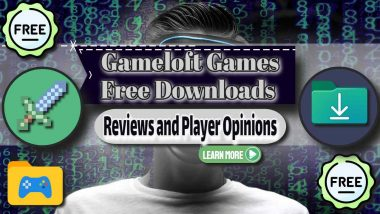 """Image text: """"Gameloft Games Free Downloads""""."""
